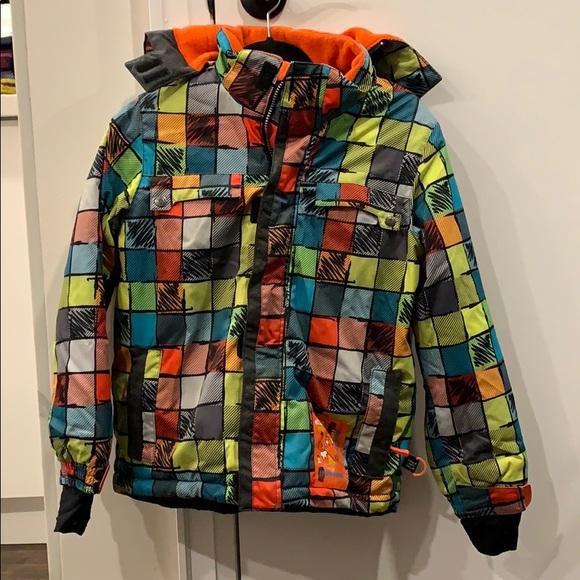 Deux Par Deux Boys Ski/SnowBoard Winter Jacket